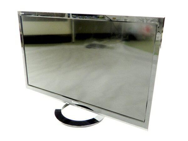 【中古】 SHARP シャープ AQUOS LC-24K40B 24V型 液晶 テレビ ブラック【大型】 K3206308