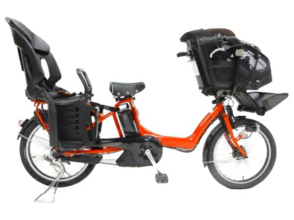 【中古】 BRIDGESTONE アンジェリーノプティット A20L15 電動 アシスト 自転車 楽直 【大型】 Y3591173