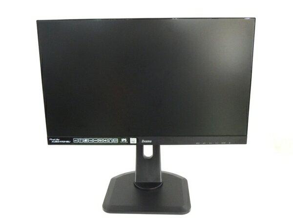 【中古】 iiyama ProLite XUB2492HSU モニター 23.8型 LED バックライト 搭載 ワイド 液晶 ディスプレイ 映像 機器 Y2863171