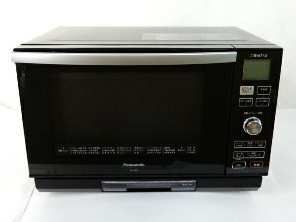 【中古】 Panasonic パナソニック 3つ星 ビストロ スチーム オーブン レンジ NE-A264-CK 電子オーブンレンジ 26L コモンブラック【大型】 Y3132361