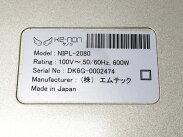 【中古】ke-nonNIPL-2080Ver6.2フラッシュ式脱毛器美容機器ケノン中古W5874182