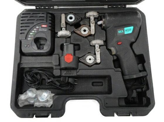 【中古】 レッキス工業 コードレスフレア RF20S REX 銅管工具 電動工具 W3287155