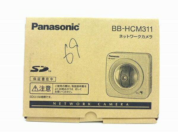 未使用 【中古】 Panasonic ネットワークカメラ BB-HCM311 屋内タイプ 防犯 セキュリティ IPv6対応 SDカード対応 O3762788