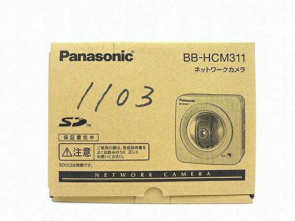 未使用 【中古】 Panasonic ネットワークカメラ BB-HCM311 屋内タイプ 防犯 セキュリティ IPv6対応 SDカード対応 O3762787