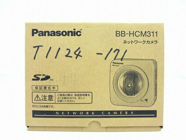 未使用 【中古】 Panasonic ネットワークカメラ BB-HCM311 屋内タイプ 防犯 セキュリティ IPv6対応 SDカード対応 O3762786
