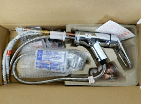 未使用 【中古】 リクシル LIXIL JF-AB461SYX UK (JW) 浄水器 内蔵 シングルレバー 混合水栓 未使用 F3869169