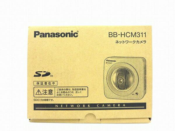 未使用 【中古】 Panasonic ネットワークカメラ BB-HCM311 屋内タイプ 防犯 セキュリティ IPv6対応 SDカード対応 O3762779