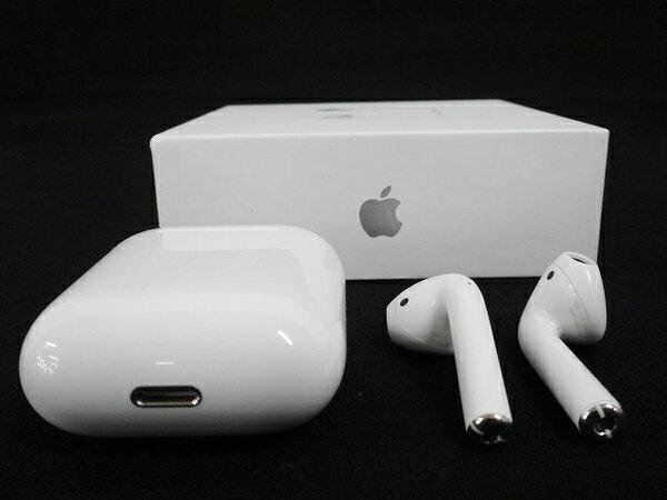 【中古】 【中古】Apple アップル AirPods MMEF2J/A ワイヤレス イヤホン 機器 W3219113