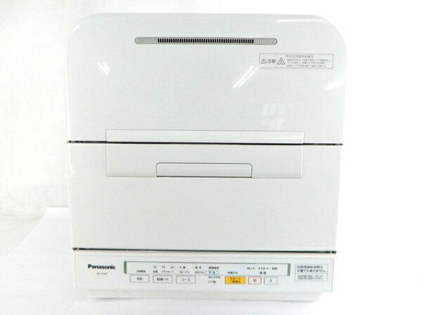 【中古】 Panasonic パナソニック NP-YTM7 W 食器洗い乾燥機 ホワイト【大型】 Y3257806