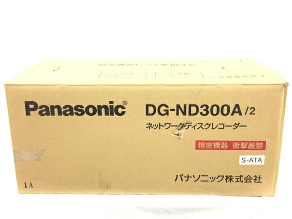未使用 【中古】 Panasonic ネットワークディスクレコーダー DG-ND300A/2 T2814400