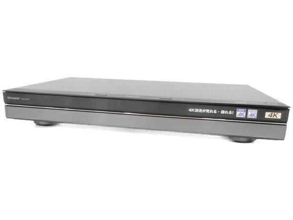 【中古】 中古 良好 SHARP AQUOS 4B-C40AT3 4K レコーダー シャープ 家電 4TB 3番組同時録画 H3921762