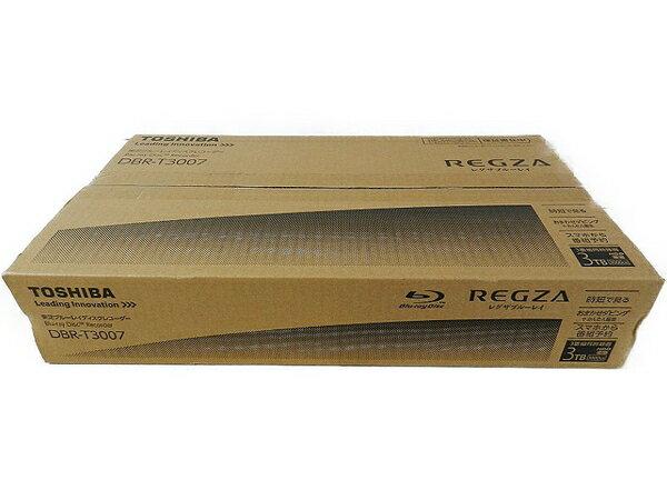 未使用 【中古】 未使用 東芝 REGZA レグザブルーレイ DBR-T3007 3TB HDD 3チューナー搭載 3D対応 ブルーレイレコーダー S3225980