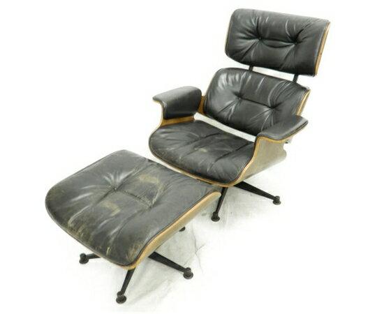 【中古】 Herman Miller イームズ ラウンジ チェア ミッド・センチュリー 家具 【大型】 K3172804