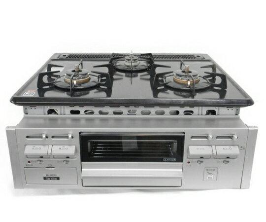 【中古】 HARMAN DG32K2SL ビルトインコンロ 都市ガス キッチン 家電 W3406791