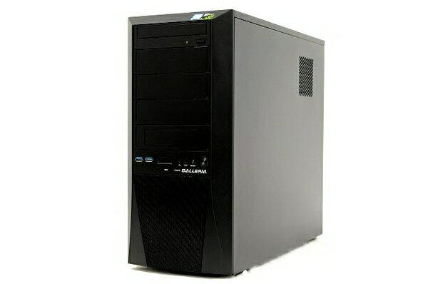 【中古】 サードウェーブ GALLERIA デスクトップPC i7 8700 3.20GHz 8GB SSD500GB HDD2TB GTX1070Ti Win10 Home 64bit T3913338