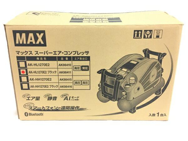 未使用 【中古】 MAX AK-HL1270E2 高圧 スーパー エア コンプレッサ 静音 Bluetooth 電動 工具 T3172442