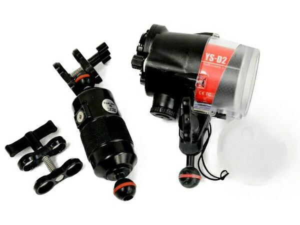 【ポイント10倍】 【中古】 SEA&SEA YS-D2 GUIDE NUMBER 32 ストロボ カメラ 周辺機器 ダイビング Float Arm S セット T3888915