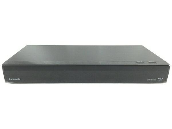【中古】 Panasonic DMR-BX2050 おうちクラウドディーガー 4K対応 2TB搭載 2018年製 S3912971
