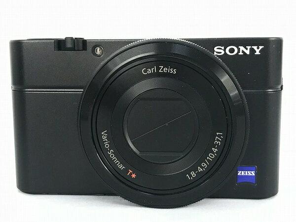 【中古】SONY ソニー サイバーショット DSC-RX100 デジタルカメラ ブラック Y3205260