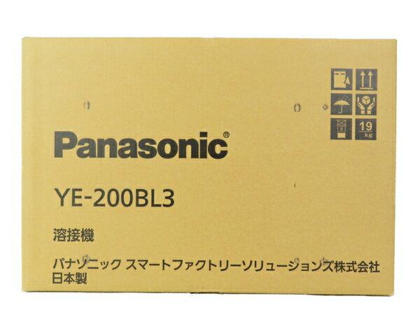 新品 【中古】Panasonic パナソニック YE-200BL3 フルデジタル 直流 TIG 溶接機 工具 メーカー保証有 S3700659