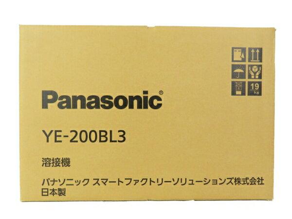新品 【中古】Panasonic パナソニック YE-200BL3 フルデジタル 直流 TIG 溶接機 工具 メーカー保証有 S3700660
