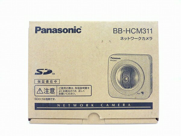 未使用 【中古】 Panasonic ネットワークカメラ BB-HCM311 屋内タイプ 防犯 セキュリティ IPv6対応 SDカード対応 O3762769