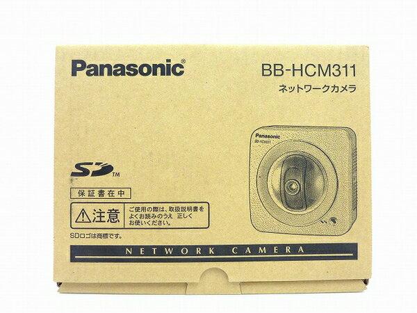未使用 【中古】 Panasonic ネットワークカメラ BB-HCM311 屋内タイプ 防犯 セキュリティ IPv6対応 SDカード対応 O3762773