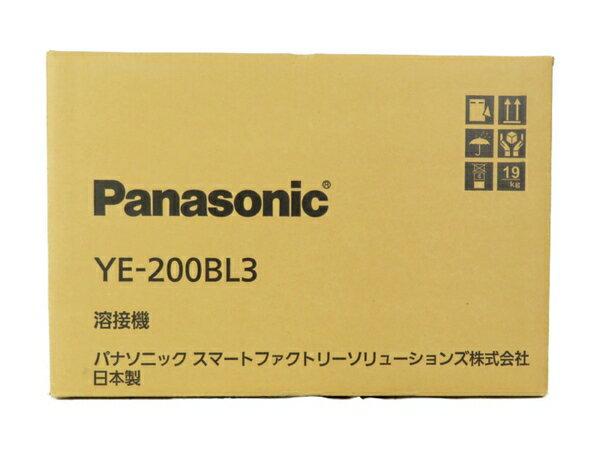 新品 【中古】 Panasonic パナソニック YE-200BL3 フルデジタル 直流 TIG 溶接機 工具 メーカー保証有 S3700661