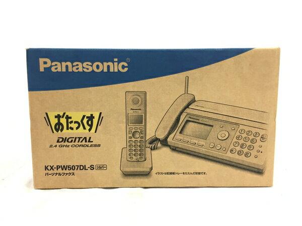 未使用 【中古】 Panasonic おたっくす KX-PW507DL-S パーソナルファクス FAX T3845218