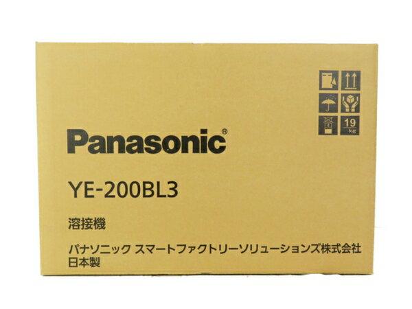 新品 【中古】 Panasonic パナソニック YE-200BL3 フルデジタル 直流 TIG 溶接機 工具 メーカー保証有 S3698499