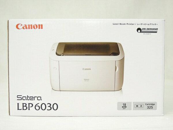 未使用 【中古】 未使用 未開封 Canon キヤノン レーザープリンタ Satera LBP6030 モノクロ プリンター A4 機器 O2761371