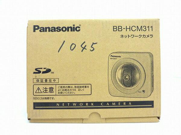未使用 【中古】 Panasonic ネットワークカメラ BB-HCM311 屋内タイプ 防犯 セキュリティ IPv6対応 SDカード対応 O3762785