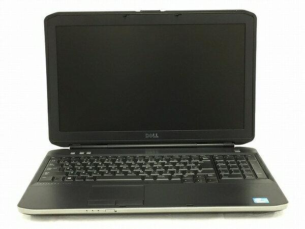 【中古】 中古 Dell Latitude E5530 ノートパソコン i5-3230M 2.6GHz 4GB 320GB Win7 Pro T3208509