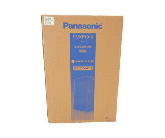 未使用 【中古】 Panasonic F-VXP70-K 加湿 空気 清浄機 ナノイー X エコナビ ブラック 家電 パナソニック W3328455