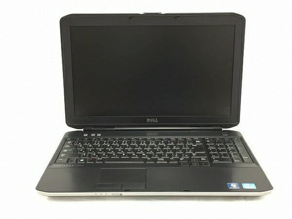 【中古】 中古 Dell Latitude E5530 ノートパソコン i5-3230M 2.6GHz 4GB 320GB Win7 Pro T3208506