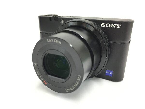 【中古】 SONY ソニー デジタルカメラ Cyber-shot RX100 ブラック コンデジ デジカメ DSC-RX100 T3149659