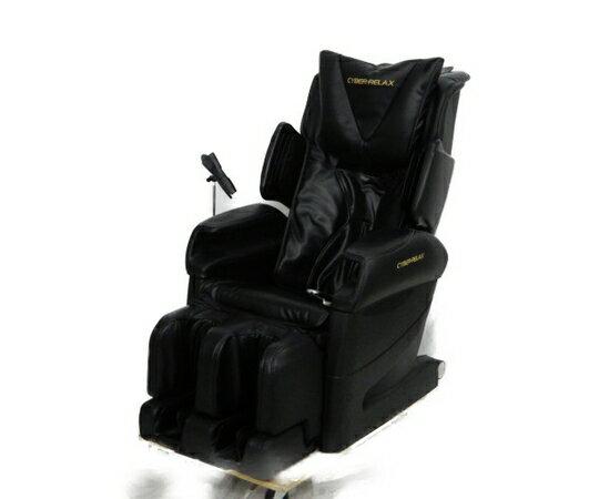 【中古】 FUJIIRYOKI フジ医療器 CYBER-RELAX AS-840BK マッサージチェア ブラック【大型】 K3926132