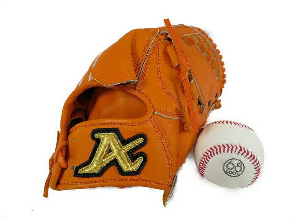 美品 【中古】 美品 ATOMS 公式野球 グローブ AGL-101 右投用 LH 大人用 S3336289