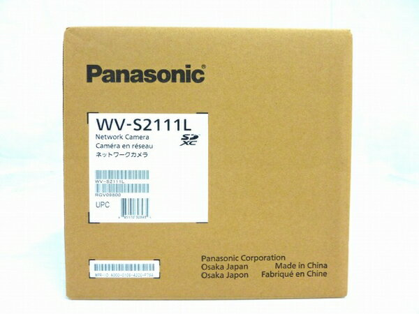 未使用 【中古】 未開封 未使用 Panasonic パナソニック WV-S2111L ネットワークカメラ H.265コーデック 防犯 カメラ 屋内ドーム O3325511