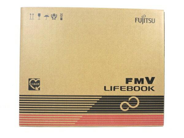未使用 【中古】 未使用 FUJITSU LIFEBOOK AH42/C2 FMVA42C2B ノートパソコン シャイニーブラック M3562046