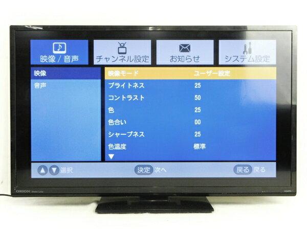 【中古】 ORION オリオン LK-321BP 液晶テレビ 32V型 14年製 ブラック 【大型】 N2766298