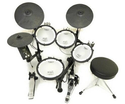 【中古】 良好 Roland V-Drums Portable TD-1KPX 電子ドラム セット ローランド ドラム N2726080