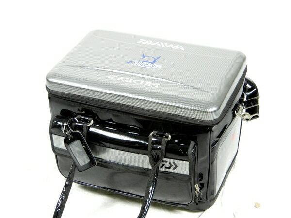 【中古】 DAIWA ダイワ プロバイザー HD ヘラバッグ 38(A) グラファイトチェック 釣り フィッシング K3551845