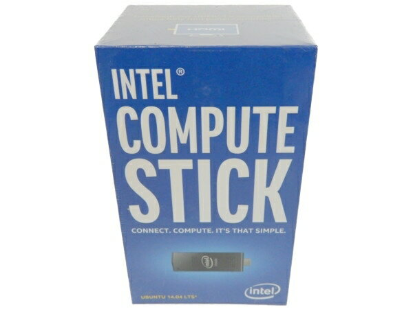 未使用 【中古】 Intel インテル COMPUTE STICK STCK1A8LFC スティック型PC Ubuntu 14.04 LTS 64bit Y3626212
