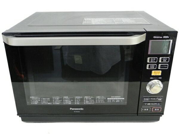 【中古】Panasonic パナソニック エレック NE-MS262-K 電子 オーブンレンジ ブラック N3323194