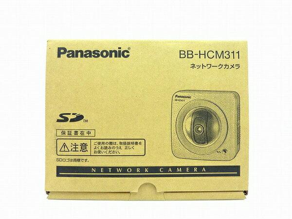 未使用 【中古】 Panasonic ネットワークカメラ BB-HCM311 屋内タイプ 防犯 セキュリティ IPv6対応 SDカード対応 O3762780
