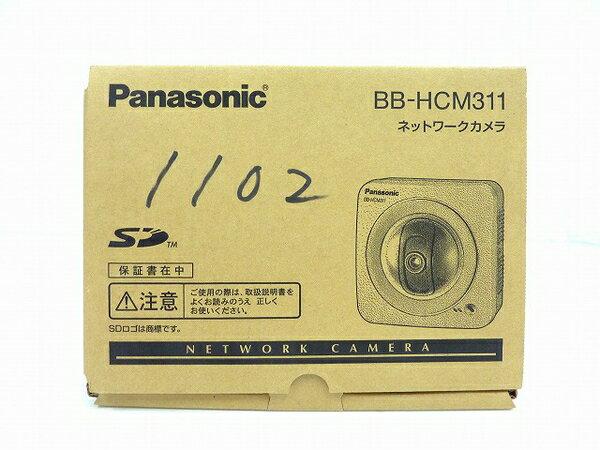 未使用 【中古】 Panasonic ネットワークカメラ BB-HCM311 屋内タイプ 防犯 セキュリティ IPv6対応 SDカード対応 O3762765