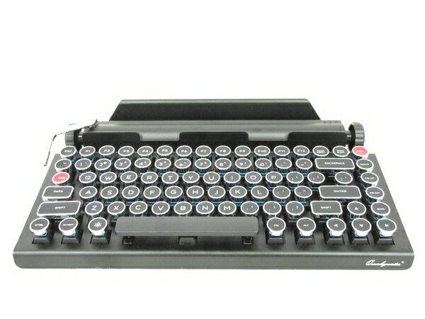美品 【中古】QWERKY TOYS QWERKYWRITER タイプライター風キーボード Bluetooth N2880902