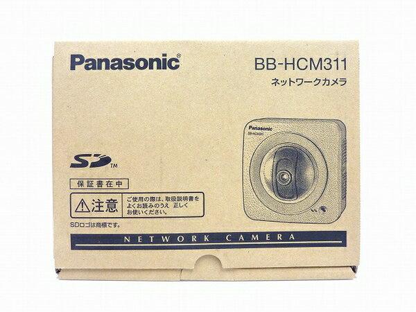 未使用 【中古】 Panasonic ネットワークカメラ BB-HCM311 屋内タイプ 防犯 セキュリティ IPv6対応 SDカード対応 O3762771
