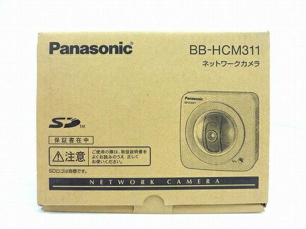 未使用 【中古】 Panasonic ネットワークカメラ BB-HCM311 屋内タイプ 防犯 セキュリティ IPv6対応 SDカード対応 O3762766